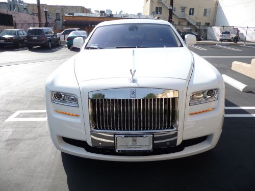 Roll Royce Ghost Rental Los Angeles